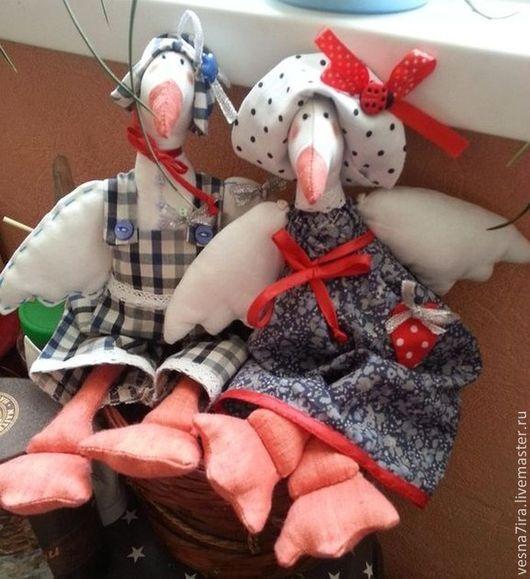 """Куклы и игрушки ручной работы. Ярмарка Мастеров - ручная работа. Купить Набор для шитья куклы  """"Гусь"""",""""Аист"""". Handmade."""