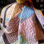 """Для дома и интерьера ручной работы. Ярмарка Мастеров - ручная работа Одеялко """"Два весёлых гуся"""". Handmade."""