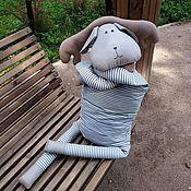 Куклы и игрушки handmade. Livemaster - original item Elk striped width 40cm. Handmade.