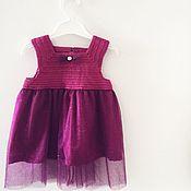 Платья ручной работы. Ярмарка Мастеров - ручная работа Платье комбинированное. Handmade.