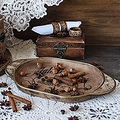 Для дома и интерьера handmade. Livemaster - original item Tray-plate country