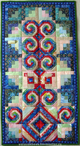 Home Textiles & Carpets handmade. Livemaster - handmade. Buy Prayer rug.The patchwork technique, gift, patchwork, quilt