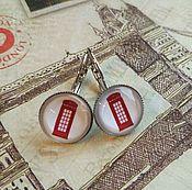 Украшения handmade. Livemaster - original item Booth earrings (earrings). Handmade.