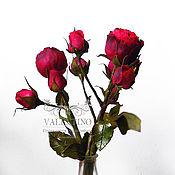 Цветы и флористика ручной работы. Ярмарка Мастеров - ручная работа Видео-мастер-класс по кустовой розе BARONESSE FREILAND PINK. Handmade.