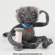Куклы и игрушки ручной работы. Ярмарка Мастеров - ручная работа Авторская игрушка - Обезьянка Босси. Handmade.