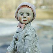 Куклы и игрушки ручной работы. Ярмарка Мастеров - ручная работа Кукла из дерева - шарнирный деревянный мальчик Фома. Handmade.
