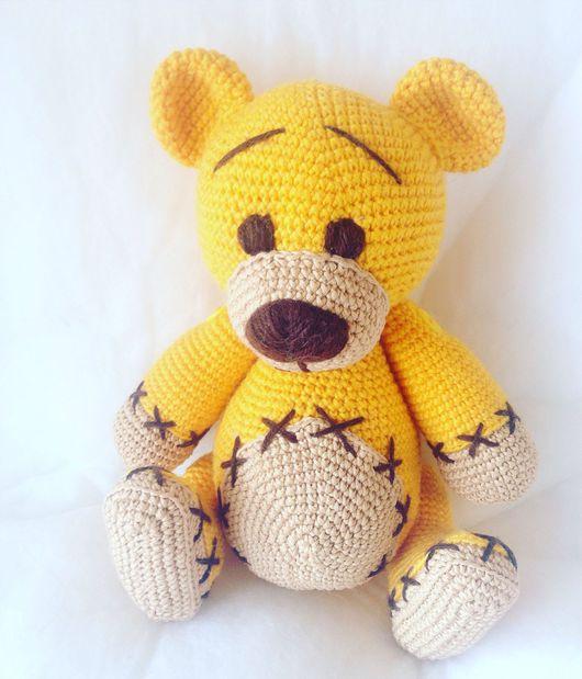 Мишки Тедди ручной работы. Ярмарка Мастеров - ручная работа. Купить Мишка. Handmade. Игрушка, крючок, вышивка, шерсть