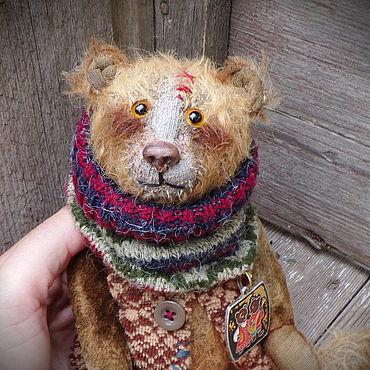 Куклы и игрушки ручной работы. Ярмарка Мастеров - ручная работа Медведь..... Handmade.