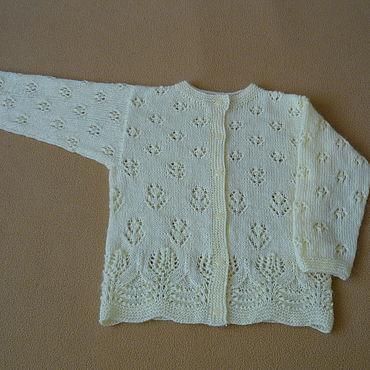 Clothing handmade. Livemaster - original item Openwork floral jacket. Handmade.