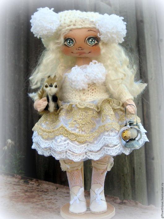 Коллекционные куклы ручной работы. Ярмарка Мастеров - ручная работа. Купить Ангел вашего дома Вера....Текстильная авторская коллекционная кукла. Handmade.