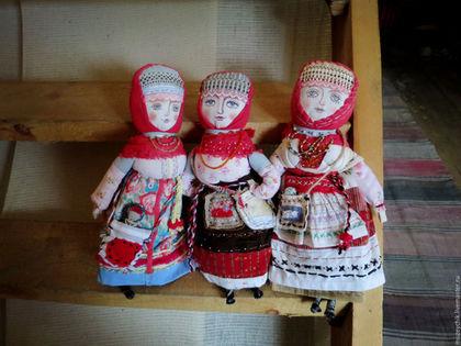 Русские женщины. Деревня. Народные куклы
