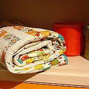 """Для дома и интерьера ручной работы. Ярмарка Мастеров - ручная работа Лоскутное одеяло  """" МОНПАНСЬЕ """". Handmade."""