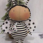 """Куклы и игрушки ручной работы. Ярмарка Мастеров - ручная работа Тильда """"малыш жук"""". Handmade."""