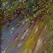 """Картины и панно ручной работы. Ярмарка Мастеров - ручная работа Картина маслом """"Лучи солнца"""". Handmade."""