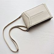 Сумки и аксессуары handmade. Livemaster - original item W0139 Handbag for phone and documents.Skin. Personal order. Handmade.