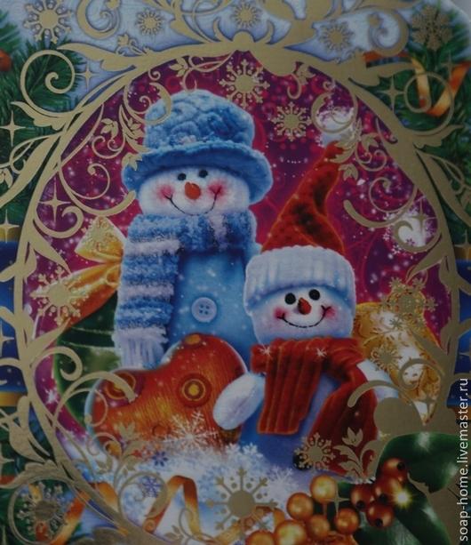 """Упаковка ручной работы. Ярмарка Мастеров - ручная работа. Купить Коробочка конфетка """"С новым годом"""". Handmade. Упаковка"""
