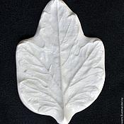 Материалы для творчества handmade. Livemaster - original item Leaf texture chrysanthemum, large. Handmade.