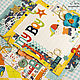Фотоальбомы ручной работы. Ярмарка Мастеров - ручная работа. Купить Альбом для мальчика на первый год. Handmade. Альбом на первый год, подарок на крещение