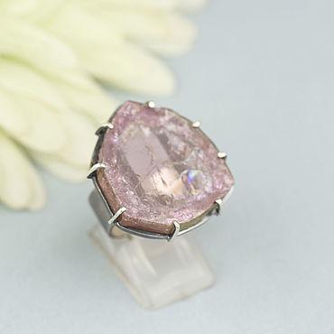 Decorations handmade. Livemaster - original item Ring with tourmaline. Silver.. Handmade.