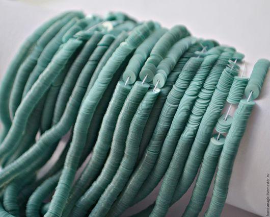 Вышивка ручной работы. Ярмарка Мастеров - ручная работа. Купить Пайетки Италия 6104 Azzurro CH 4мм. Handmade. Бирюзовый