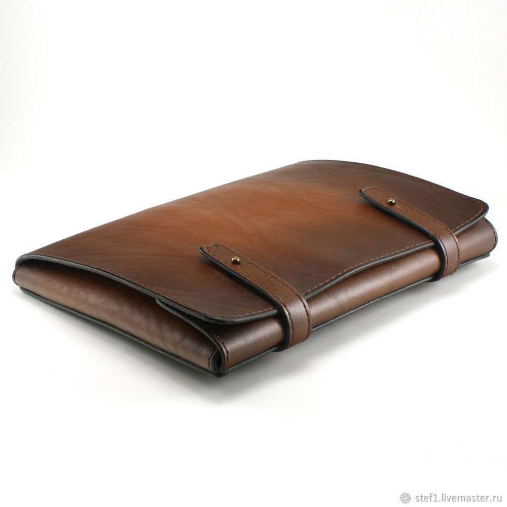 Папка кожаная папка для документов для бумаг бизнес подарок, Папки, Екатеринбург,  Фото №1