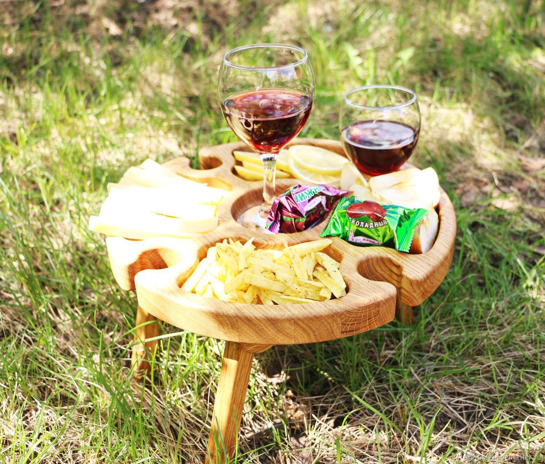 Винный столик(Складной столик для пикников), Подставки, Самара,  Фото №1