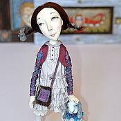 """Куклы и игрушки ручной работы. Ярмарка Мастеров - ручная работа """"Наряд для зайки от щедрой хозяйки"""". Handmade."""