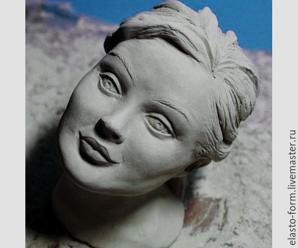 как слепить голову человека скульптура