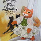 Куклы и игрушки ручной работы. Ярмарка Мастеров - ручная работа Кошка Розалинда. Handmade.
