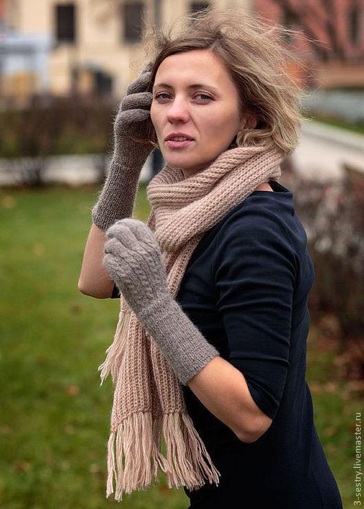 Перчатки, перчатки вязаные, вязаные перчатки, варежки перчатки, перчатки женские, теплые перчатки, перчатки на зиму, длинные перчатки, перчатки митенки. Длинные женские перчатки 1500 р на заказ.