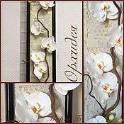 Панно «Музыка цветов: Орхидея»
