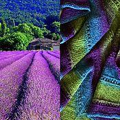 Аксессуары handmade. Livemaster - original item Bactus Lavender fields of Provence. Handmade.