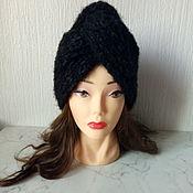 Аксессуары handmade. Livemaster - original item Black turban