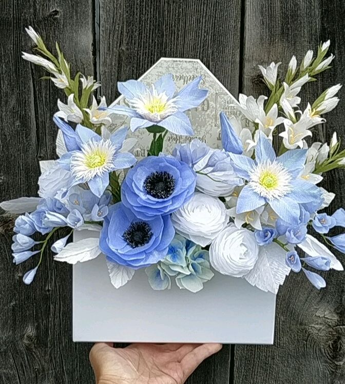 букет из бумаги, Цветы, Горно-Алтайск,  Фото №1