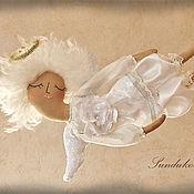 """Куклы и игрушки ручной работы. Ярмарка Мастеров - ручная работа """"Ангел детских снов"""" - авторская кофейная куколка. Handmade."""