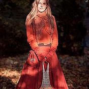 """Одежда ручной работы. Ярмарка Мастеров - ручная работа Бохо-юбка """"Осень в Шервурде"""". Handmade."""