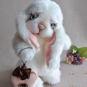 Teddy Toys handmade. Livemaster - original item Teddy Bunny Valentine. Handmade.