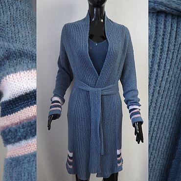 Clothing handmade. Livemaster - original item Cardigan Merino. Handmade.