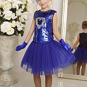 Платья ручной работы. Ярмарка Мастеров - ручная работа Нарядное платье  для девочки. Handmade.