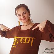 """Одежда ручной работы. Ярмарка Мастеров - ручная работа Платье """"Бхагаван"""". Handmade."""