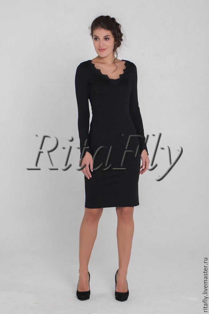 3092a6f5e26 Купить 288  Коктейльное платье футляр Платья ручной работы. 288  Коктейльное  платье футляр с кружевной спиной.