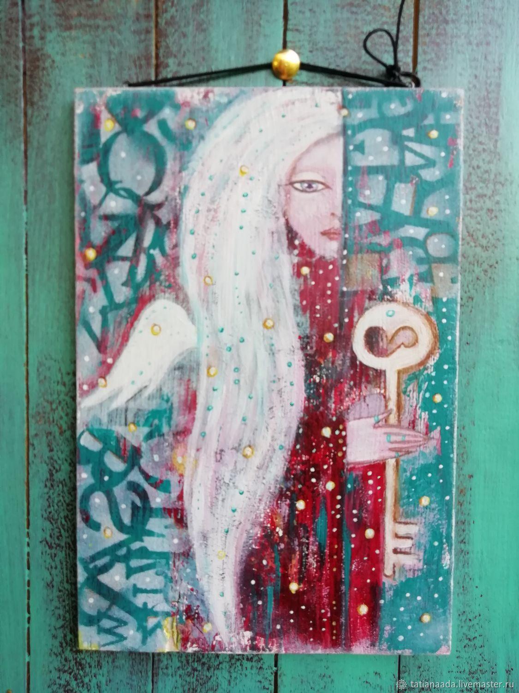 """""""Ангел с ключом"""", Картины, Камышин,  Фото №1"""