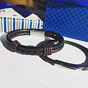 Украшения ручной работы. Ярмарка Мастеров - ручная работа Комплект мужских браслетов. Handmade.