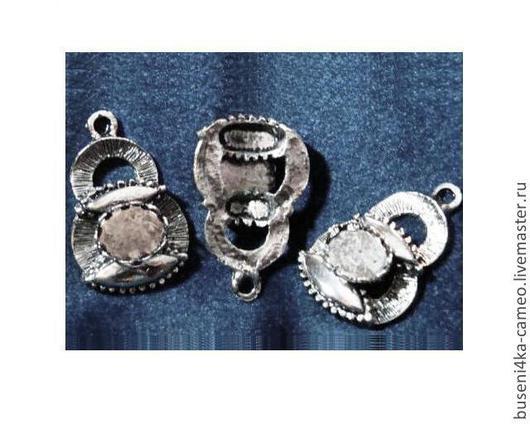 Для украшений ручной работы. Ярмарка Мастеров - ручная работа. Купить Основа для подвески Будда 8х10мм, ант. серебро (1шт). Handmade.