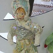 """Подарки к праздникам ручной работы. Ярмарка Мастеров - ручная работа Снегурка из ваты,серия """"Забытые игрушки"""". Handmade."""