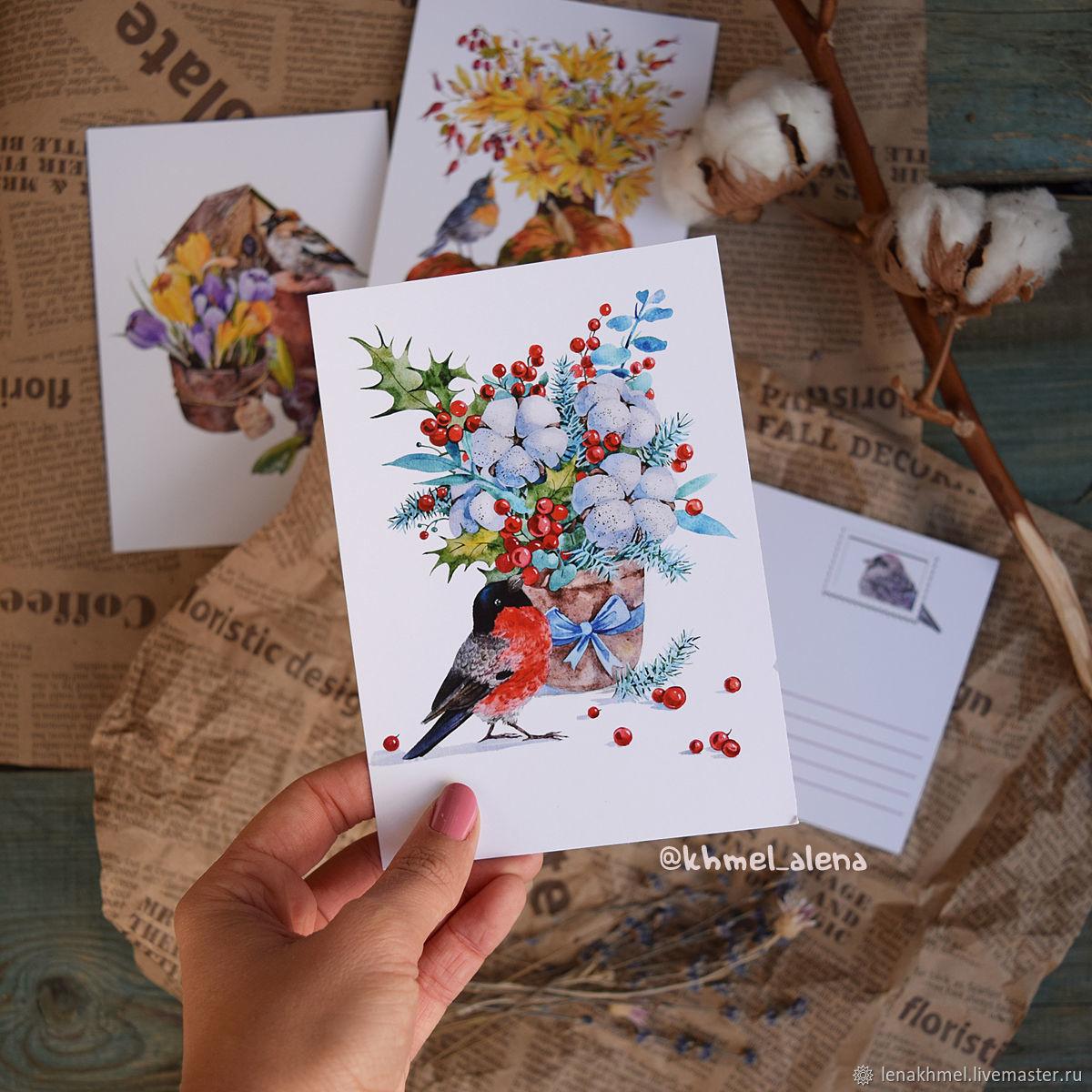открытки для посткроссинга набор для создания успешного