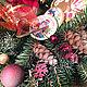 Новый год 2018 ручной работы. Заказать Корзина подарочная Для самых любимых. Мастерская Домашние уютности. Ярмарка Мастеров.