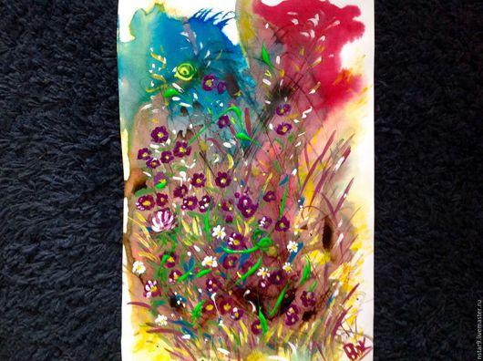 Фэнтези ручной работы. Ярмарка Мастеров - ручная работа. Купить Цветочная фантазия 2.. Handmade. Коричневый, купить подарок