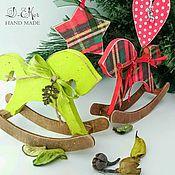 Для дома и интерьера ручной работы. Ярмарка Мастеров - ручная работа Интерьерные лошадки (разные расцветки!!!). Handmade.