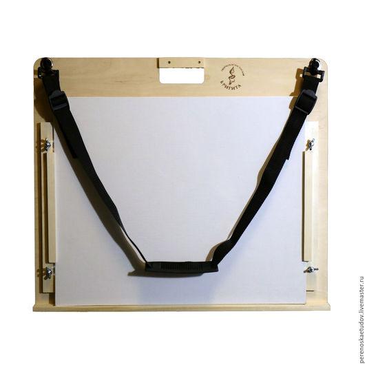 Планшет-переноска для масляных этюдов двусторонний регулируемый. Для этюдов размером до 40х50 см. На 2 холста. Творческая мастерская Бригита. Елена Ремизова.